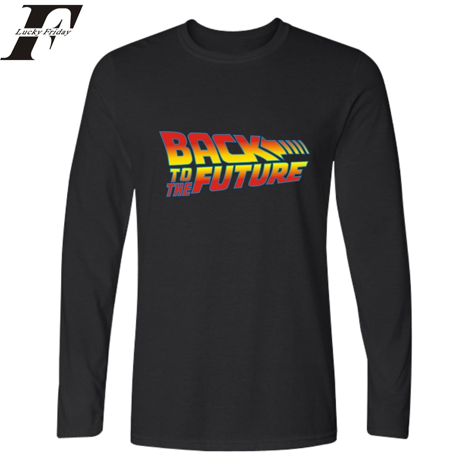 Men T-shirt Brand Clothing T shirt Fitness Tshirt Harajuku Back to the Future Hip Hop Mens Tee Shirt Homme Camiseta Masculina