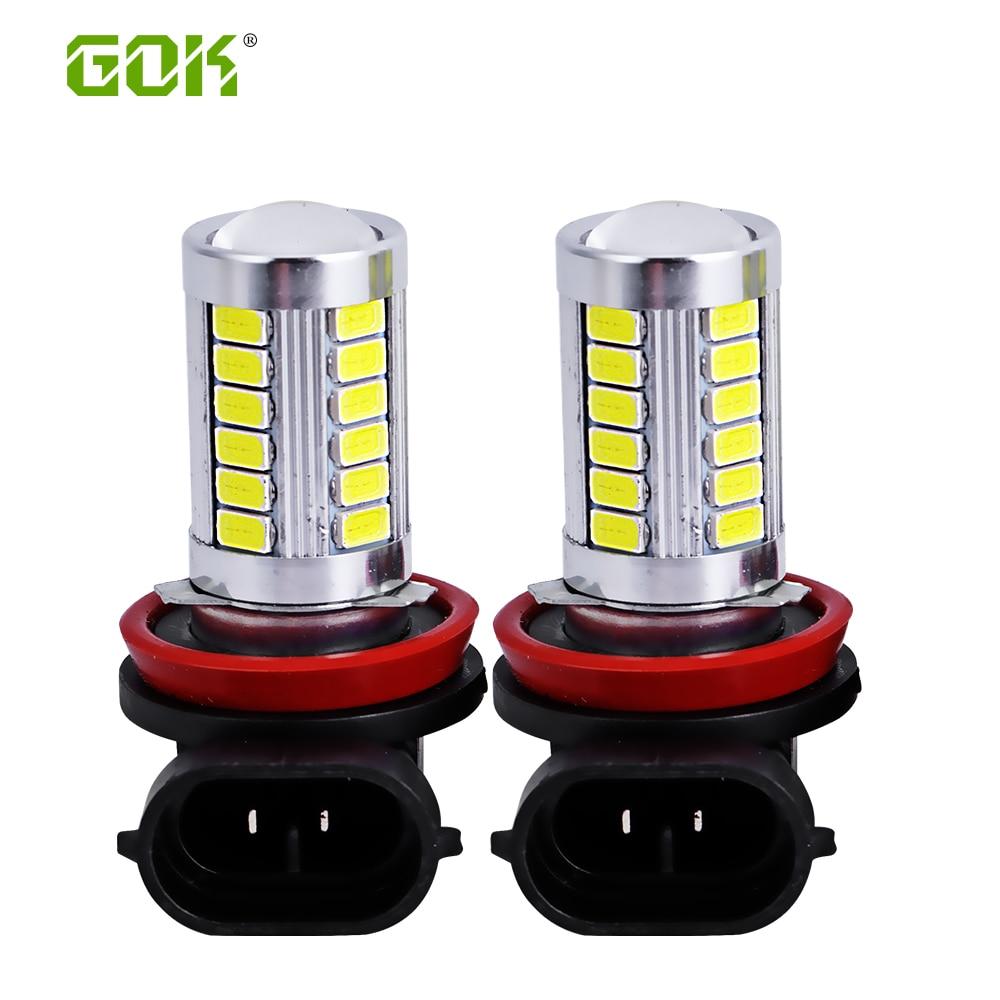 4ks Vysoce kvalitní H7 H4 9006 H8 H11 LED světlo 5730 5630 33SMD Mlhovka pro řízení vozidla pro Chevrolet Cruze