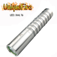 UniqueFire G6 XML T6 Led Portable LED Flashlight 1200 Lumens White Light 5 Modes Rechargeable Lamp Power By 18650 Battery