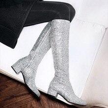 67802bf8b5 Compra silver glitter boots y disfruta del envío gratuito en ...