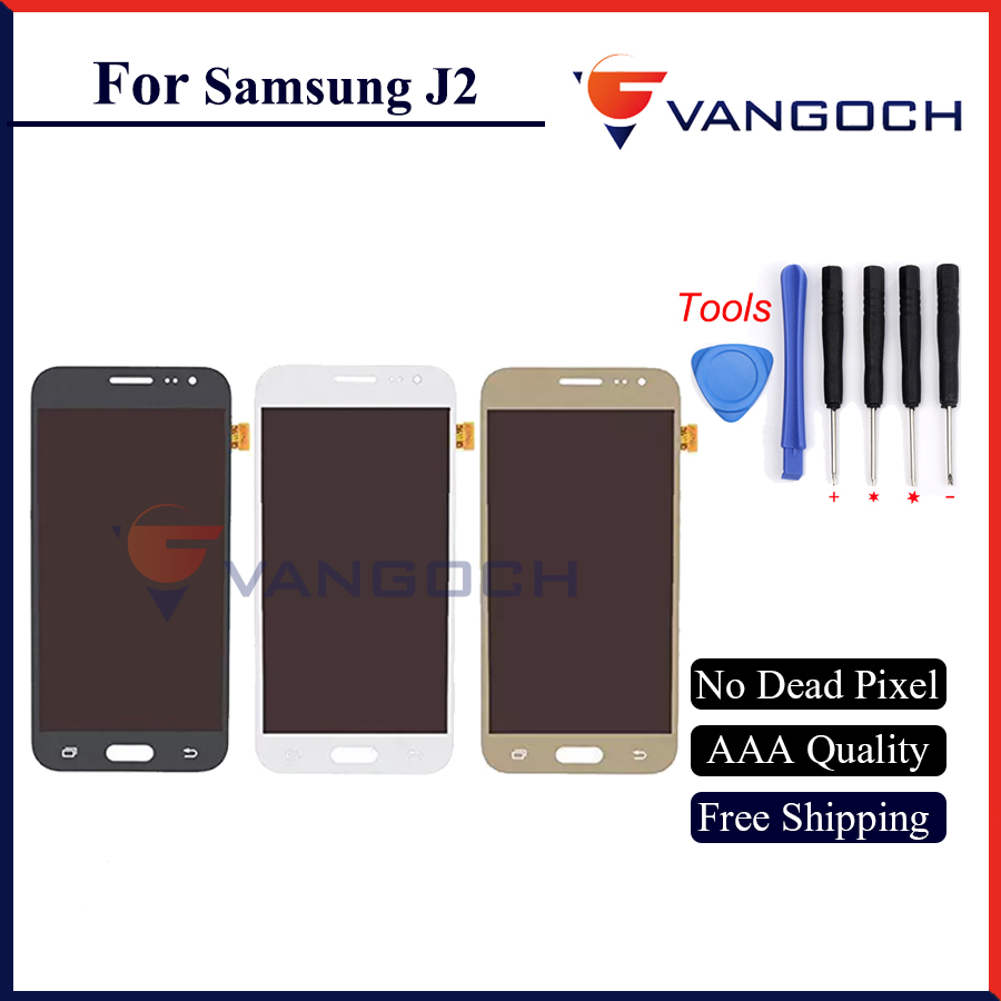 Free Shipping J2 Display For Samsung Galaxy J200 J2 J200F J200Y Lcd Display With Touch Screen Digitizer For Samsung J2 Lcd 1pcs brand new j2 lcd free shipping j2 display for samsung galaxy j2 j200 lcd j200f j200y lcd display touch screen digitizer 100pcs