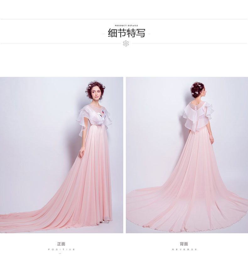 100%real chiffon swan princess cosplay gown Medieval dress ...