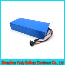 Hot selling 51.8v 1500w electric bike electric scooter electric golf car battery pack 51.8v/52v 20ah with BMS charger