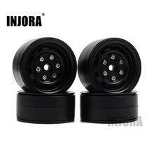 4PCS Metal 1.9 Inch Beadlock Wheel Rim for 1/10 RC Rock Crawler Traxxas TRX 4 Axial SCX10 90046 AXI03007 Tamiya CC01 D90 D110