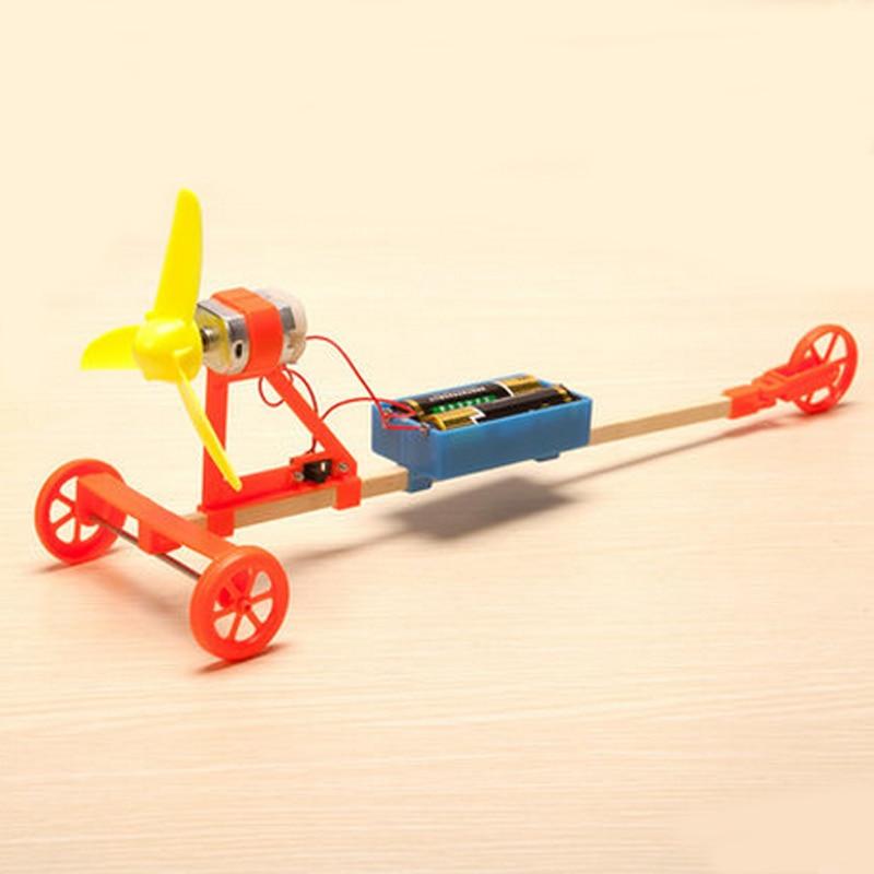 Лидер продаж, 1 комплект, DIY Собранные научно-технические материалы, физический эксперимент, производство, игрушки для малышей, Забавный ветер, автомобиль, подарки, 2019