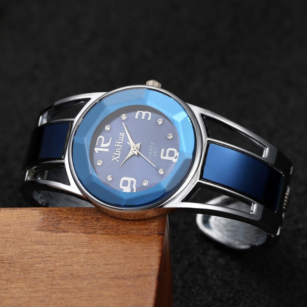 reloj mujer 2019 Hot Sell Xinhua Bracelet Watch Women Luxury Brand Stainless Steel Dial Quartz Wristwatches Ladies Watch 5