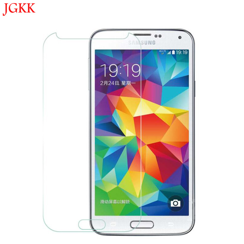 9H Tempered Glass Screen Film For Samsung Galaxy S6 S4 S5 S3 For Note 4/3 Front Film Clear Protect Slim Shockproof