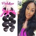3 Bundles V SHOW Hair Products Brazilian Virgin Hair Body Wave 8A Brazilian Hair Weave Bundles Brazilian Human Hair Body Wave