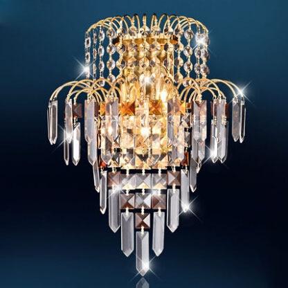 New LED Modern led Crystal wall sconces Light for Aisle Bedroom Corridor Porch , Background Light AC110V AC85-265V