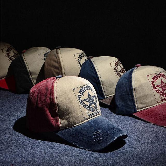 a2cee8924e9 Genuine Eagleborn Brand sailor Cap Mixed Color Washed Cotton Unisex Women  Men Hats Baseball Cap Snapback casual sport Cap ZYQ-1
