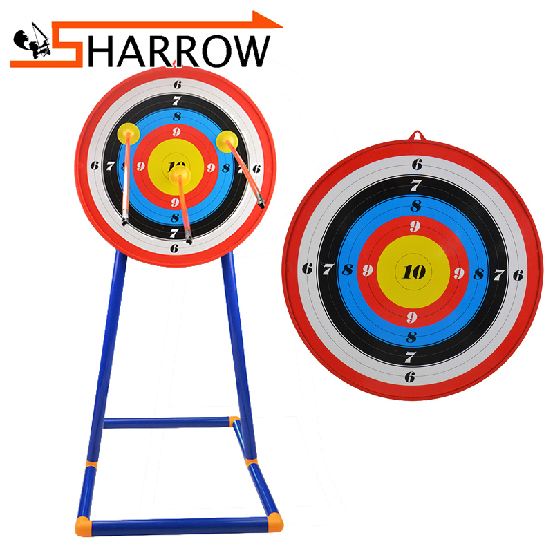 1Pcs Archery Kids Stand Target Board Arrow Toy Plastic Children Shooting Accessory Outdoor Sports Gift