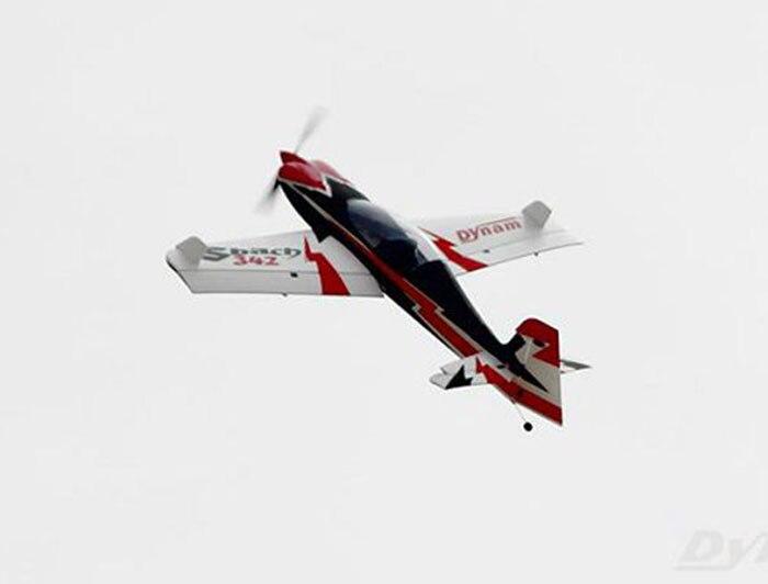 Dynam 1250MM Sbach 342 RC RTF Propeller Plane Model W/ Motor ESC Servos Battery цены