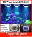2pcs/lot dhl free shipping Evergrow Value D100 Full Spectrum Pendant LED Aquarium Light 100W