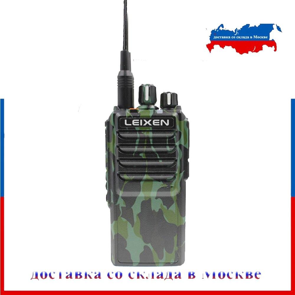 LEIXEN 注ビッグ電源 25 ワット UHF 400 480 Mhz の Fm ハム双方向ラジオ長距離トランシーバートランシーバー黒 Transeiver インターホン黒カム  グループ上の 携帯電話 & 電気通信 からの トランシーバー の中 1
