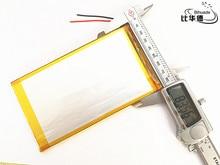 Liter energy battery 1pcs/lot 3.7 V 10000 mah tablet gm lithium polymer battery 5582145 for tablet pc 9.7″ 10.1″