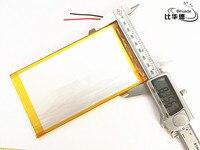 Litro 1 pçs/lote energia da bateria 3.7 V 10000 mah bateria de polímero de lítio tablet gm 5582145 para tablet pc 9.7