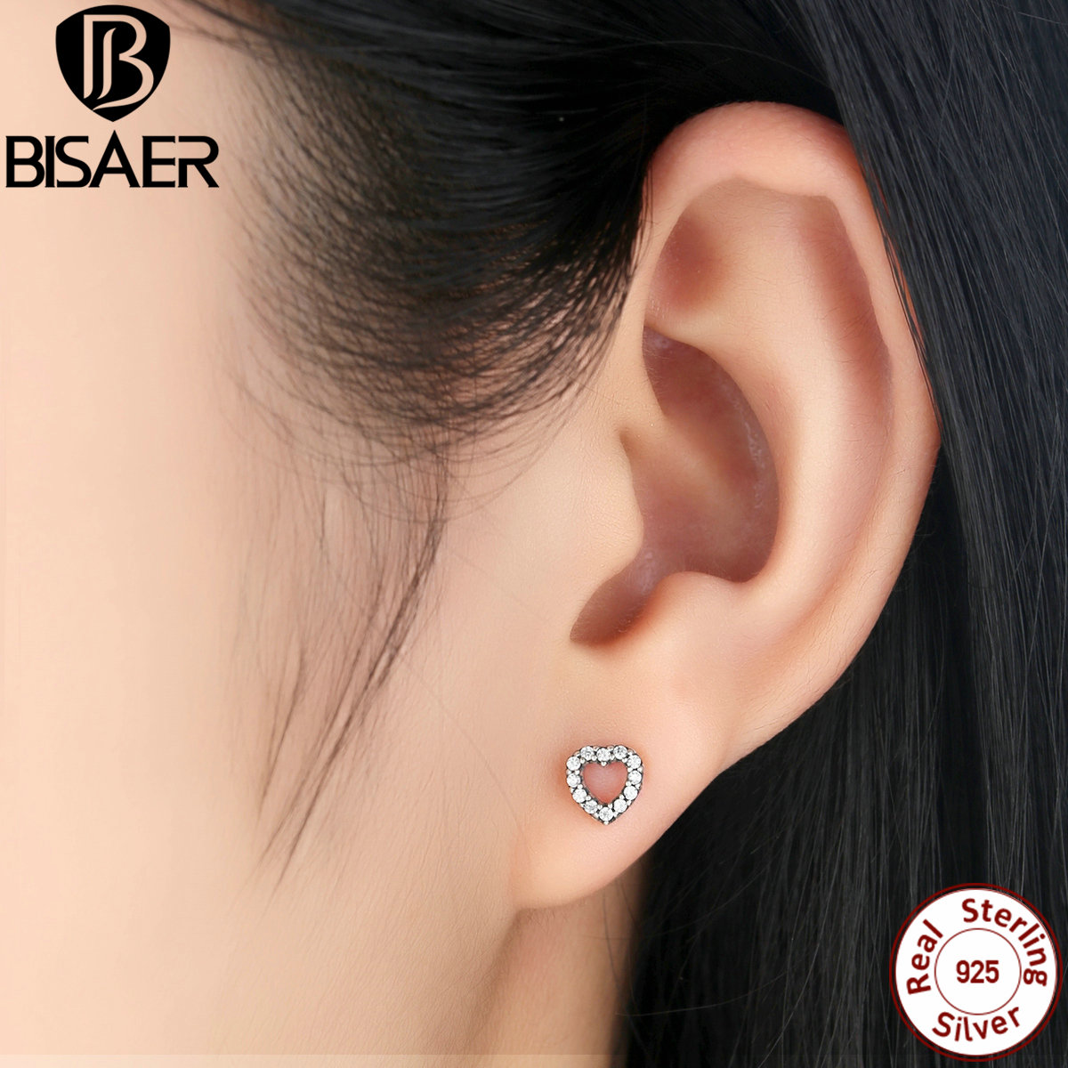 zirconia cluster jewelry stud front set silver earring view earrings honeycomb in products popular cubic pave sterling