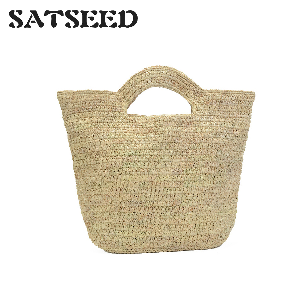 Hand-woven Lafite Straw Beach Bag for Travel and Holiday in 2019 Simple Fashion Hand-woven BagHand-woven Lafite Straw Beach Bag for Travel and Holiday in 2019 Simple Fashion Hand-woven Bag