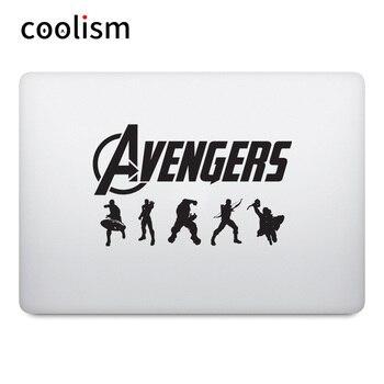 Avengers Vinyl Laptop Sticker for Macbook Pro Air Retina 11 12 13 14 15 inch Super Heros Mac Surface Book Skin Notebook Decal