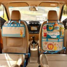 Unidades de almacenamiento de coches de lujo del coche plegable asiento trasero del coche del vehículo camión calentador organizador diy envío gratis bolsa de viaje de bolsillo para niños de dibujos animados