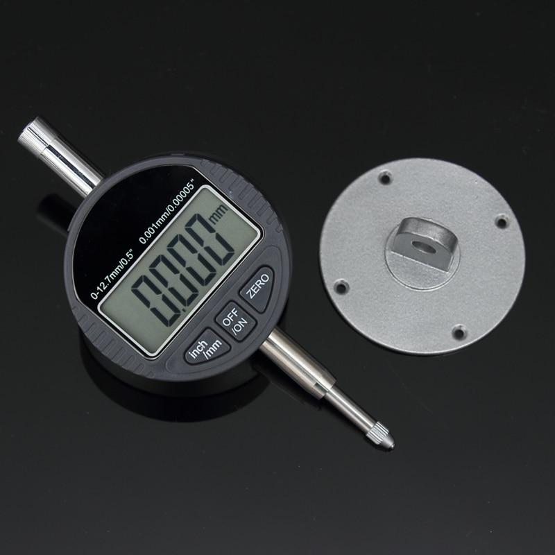 0.001mm Dial Indicator Gauge Metric/Inch Range 0-12.7mm/0.5