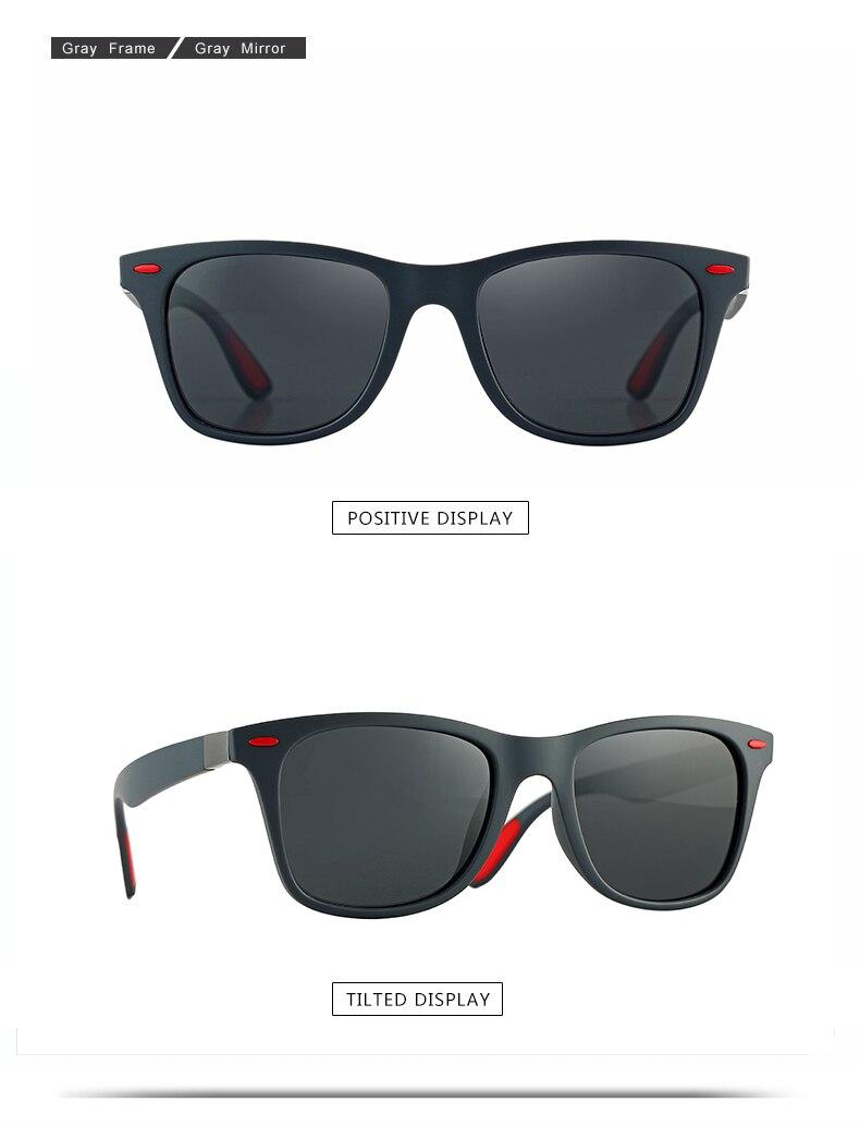ASUOP 2019 new square men's sunglasses fashion UV400 meters nail ladies sunglasses classic brand design sports driving sunglasses (10)