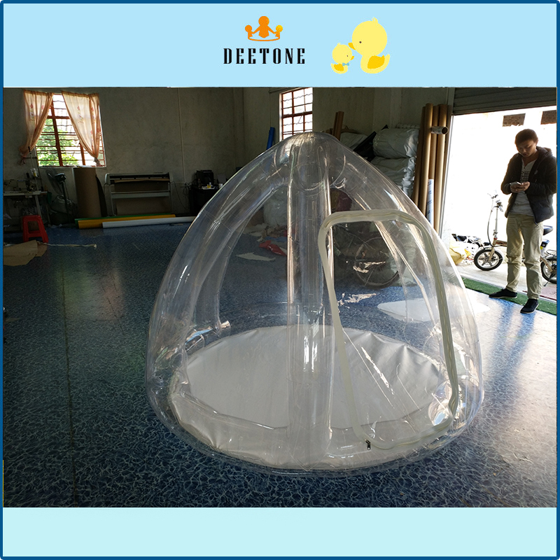 cheap inflatable clear bubble tent for sale/ inflatable bubble tent/transparent tent for sale