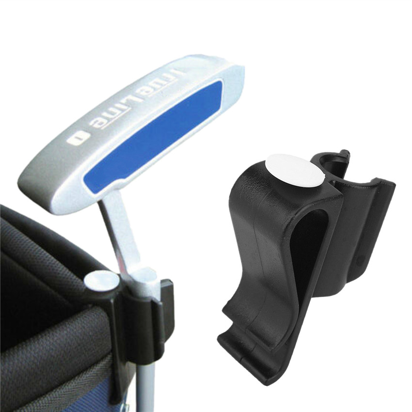 Golf Putter Holder On Putting Organizer Club Holder Bag Clip Ball Clamp Organizer Training Aids Tool Climps 1 Pc Accessories