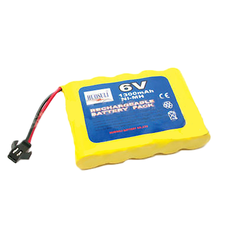 1 x 6V 1300mAh Ni-MH Rechargeable Battery Pack PLUG - us47
