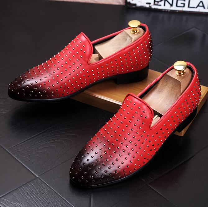 Popular Red Dress Shoes Loafer-Buy Cheap Red Dress Shoes Loafer ...