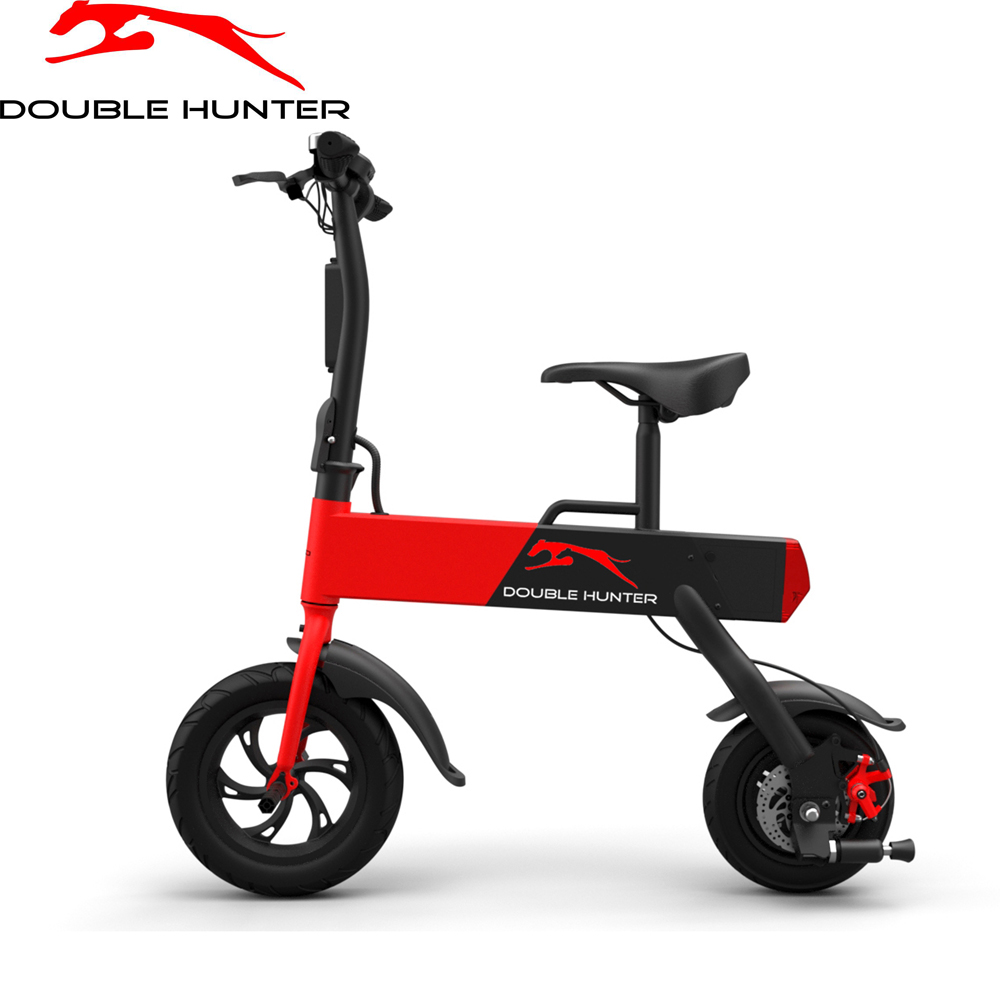 Electric Bicycle DOUBLE HUNTER P12  bike motorcycle electromoped motor scooters 2 7kg 250w brushless gear hub rear motor for electric bike