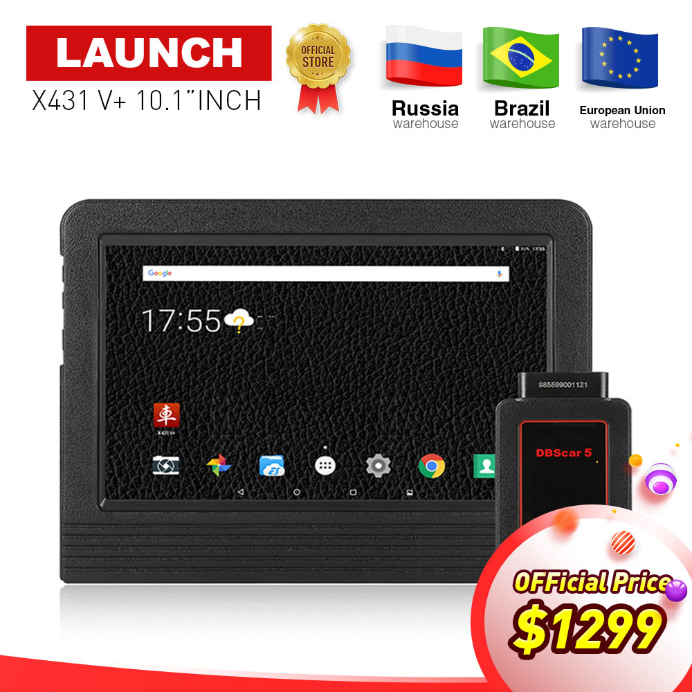 100 LAUNCH X 431 X431 V 10 1 inch Wifi Bluetooth Auto diagnostic scanner with 2