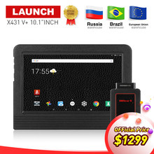 100% LAUNCH X-431 X431 V+ 10.1″inch Wifi/Bluetooth Auto diagnostic scanner with 2 years free update Same as X431 Pro3 Scan Tool