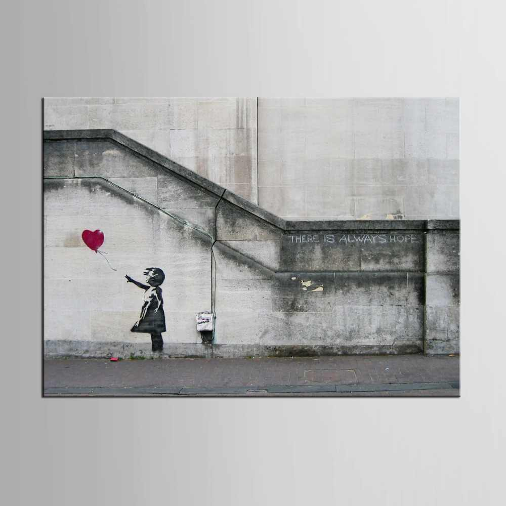 1 panel Kids Street Graffiti Painting For Living Room Wall Modern Canvas Printing Wall Pictures