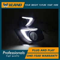 VLAND factory for Car fog lamp for ASX for Outlander LED daytime running light 2013 2014 2015 2016 for ASX DRL