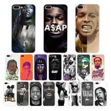 ASAP Rocky Rapper Coque Phone Case For Apple iPhone XS Max XR X Cover 8Plus 8 7Plus 7 6sPlus 6s 6Plus 6 5 5S SE soft Shell TPU ufc conor mcgregor the king soft tpu silicone cover phone case for iphone 6splus 7plus 8plus se 5 5s 6 6s 7 8 max xr xs x10