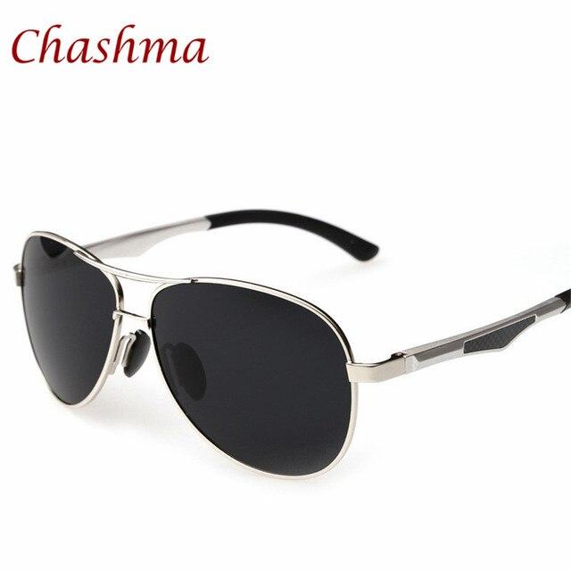 2bdc8f6647d7b Chashma Marca Polaroid Óculos De Sol para Homens 3 Cores Twin-Feixe Full  Frame Espelho