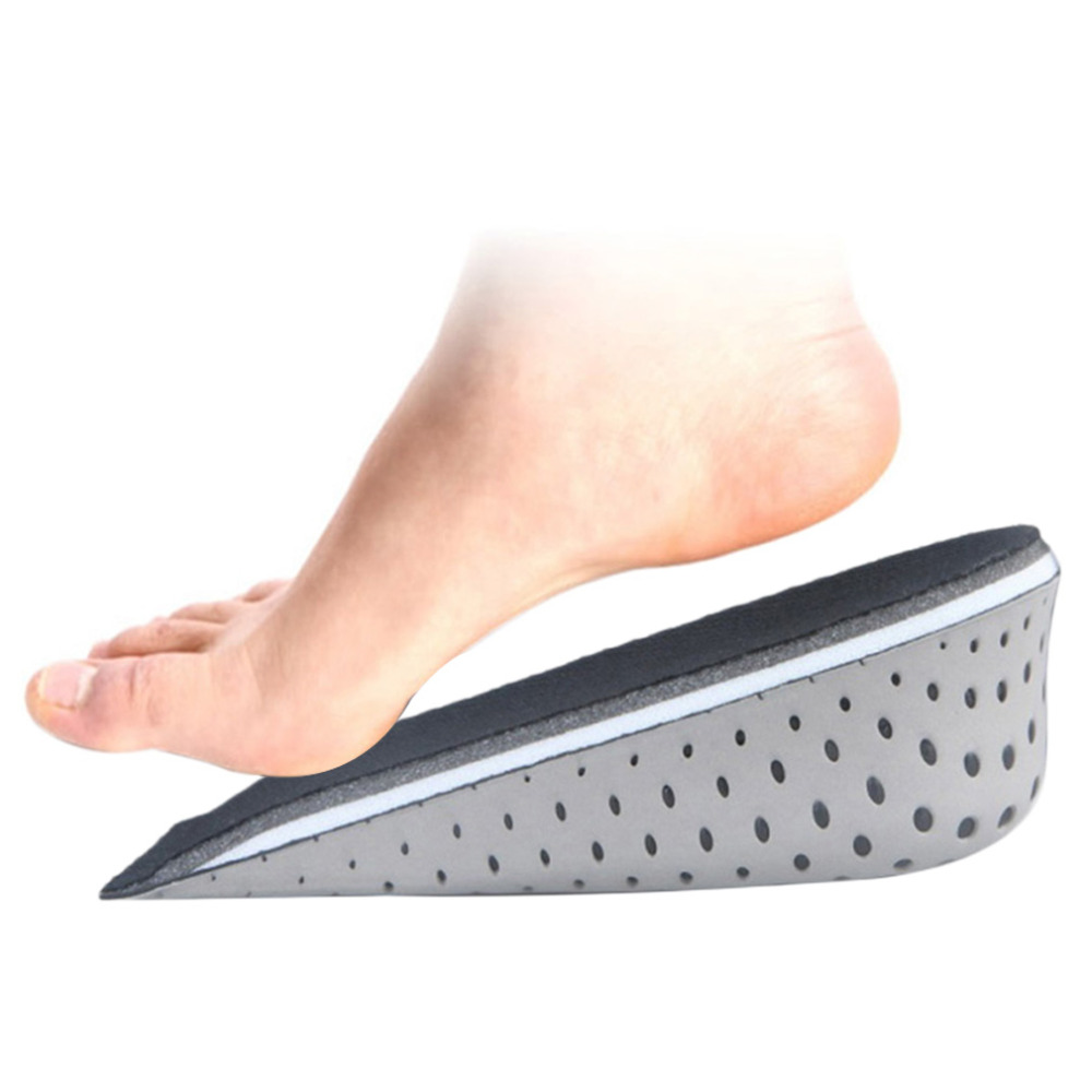 1 Pair Unisex Increasing Orthotics Insole Lift Insert Pad Height Cushion Taller Men Footwear Women Shoes Inserts Hot Selling 2016 2 pcs invisible shoe taller insole 6 color increasing height short helper half lift air 2 5cm cushion insert 6 colors