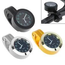 Stainless Steel Refit Waterproof Shockproof Buckle Handlebar Watch for Motorcycle and Bike