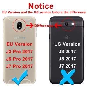 Image 2 - Закаленное стекло для Samsung Galaxy J3 J5 J7 A3 A5 A7 2015 2016 2017 2018 защита экрана Защитная пленка