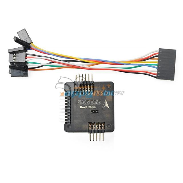 NAZE32 REV6 Full Version Flight Controller 32bit Processor with Barometer & Compass for FPV
