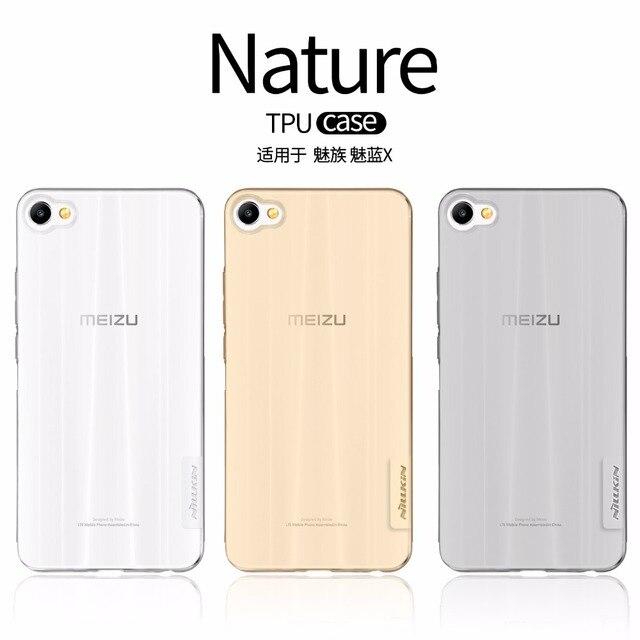 Meizu M3X case Meizu M3X cover NILLKIN Nature clear TPU Transparent soft case for Meizu M3X Luxury brand with retailed package