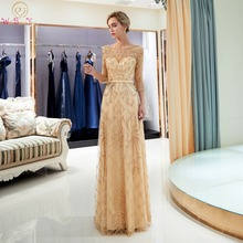 WALK BESIDE YOU Prom Dresses A-line Three Quarter Sleeves