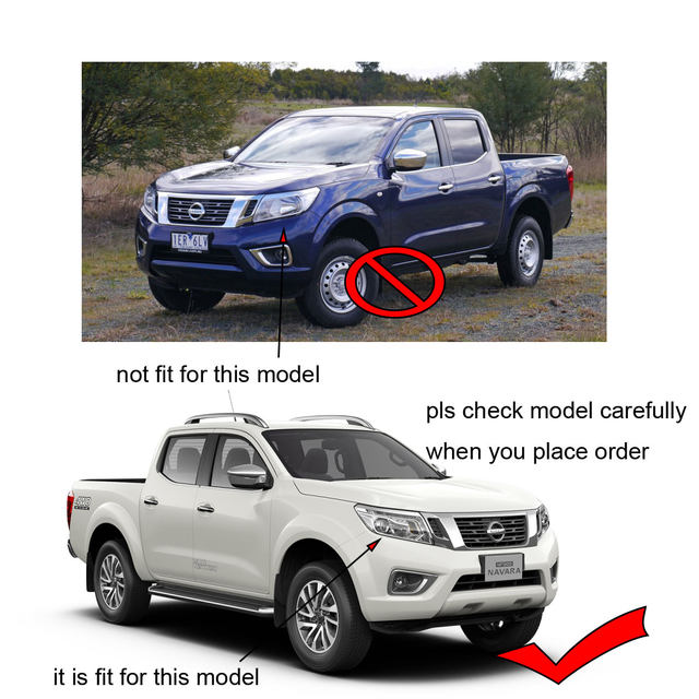 2015 2018 Silver Fender Flares For Nissan Navara Frontier 2017 Mudguard  Pocket Rivet Style Suitable Nissan Frontier Np300 Ycsunz