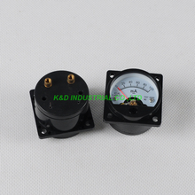 все цены на 1pc VU Voltage SO45 Panel Meter with Back Light Gauge Black 300B 6550 Tube Amp онлайн