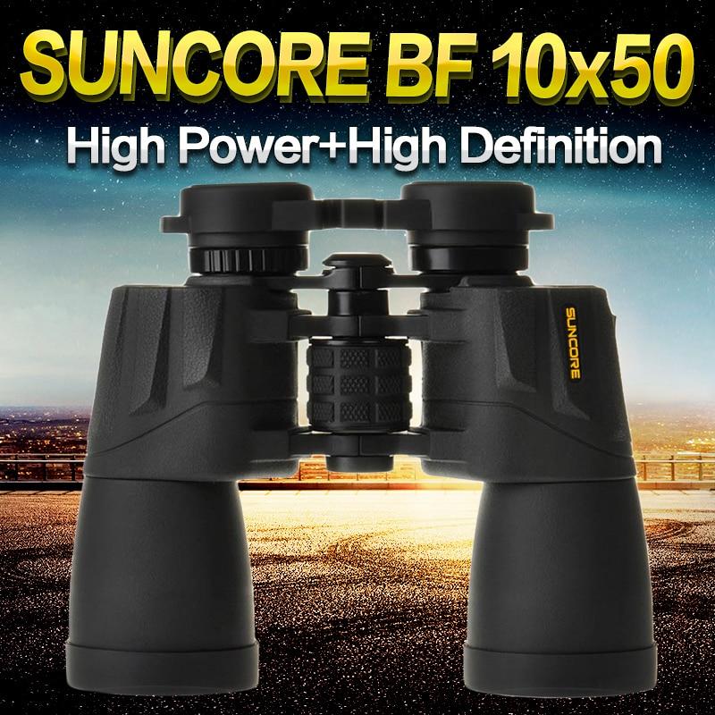 SUNCORE BF 10X50 Binoculars telescope Optical Binocular Telescope No night vision