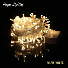 Купить с кэшбэком Multicolour AC 110V/220V 64ft 20M 200 LED String Fairy Lights for xmas christmas wedding Birthday Party Light