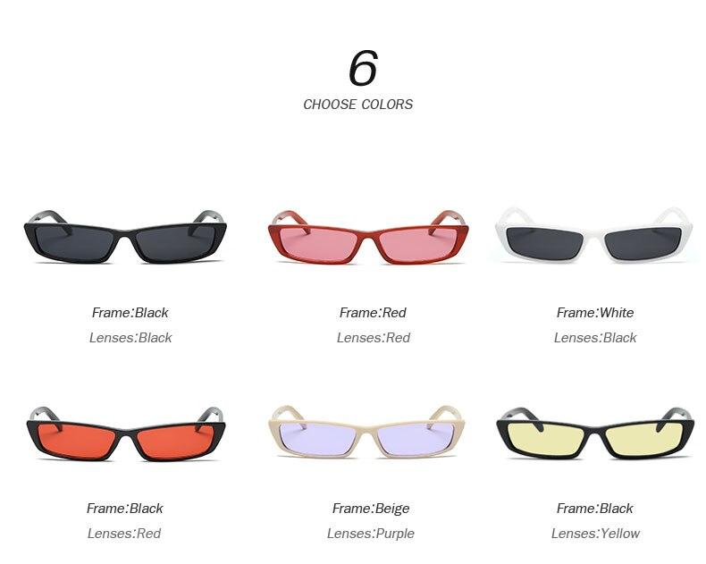 HTB1siowcEo09KJjSZFDq6z9npXaR - Vintage Rectangle Sunglasses Women Brand Designer Small Frame Sun Glasses Retro Black Eyewear