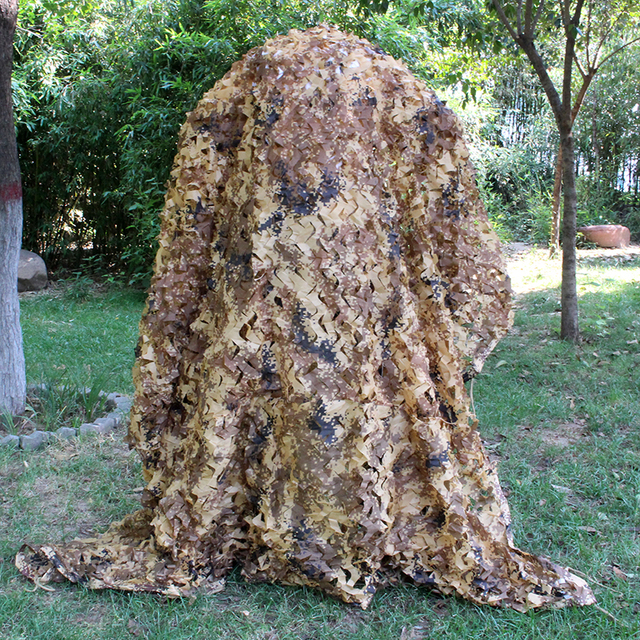 Desert Digital Camouflage Netting Outdoor Hunting Camo Net Camping Sun Shelter Car Cover Camouflage Net Hunting Blind Military 5