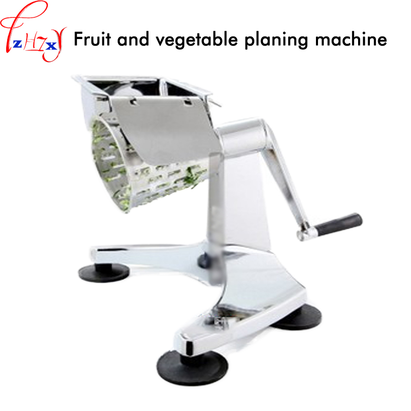 Manual operation fruit and vegetable planing machine hand-shake multifunction table fruit and vegetable slicer salad machine portable salad vegetable fruit scissors
